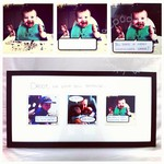 How-to make a speech bubble photo gift for Daddy