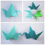 Craft ideas for kids: Origami flapping bird tutorial