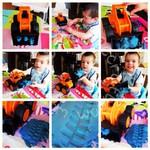 PlayDoh with Diggers!