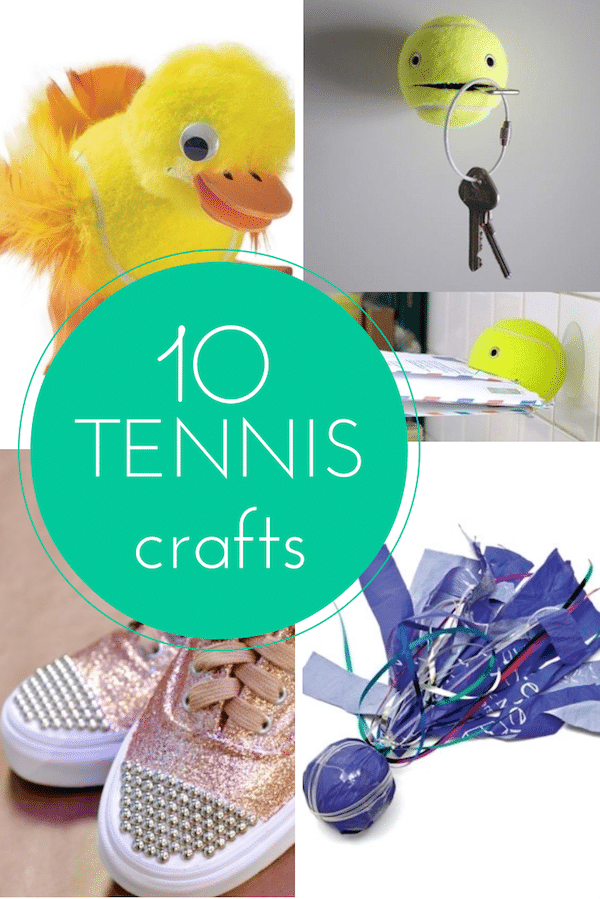 10 tennis crafts