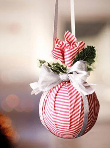 tennis ball tree ornament