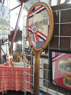 tennis racket memory display