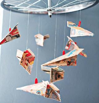 paper plane crafts & activities