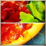Quick and easy kids' recipe for pizza (from scratch)