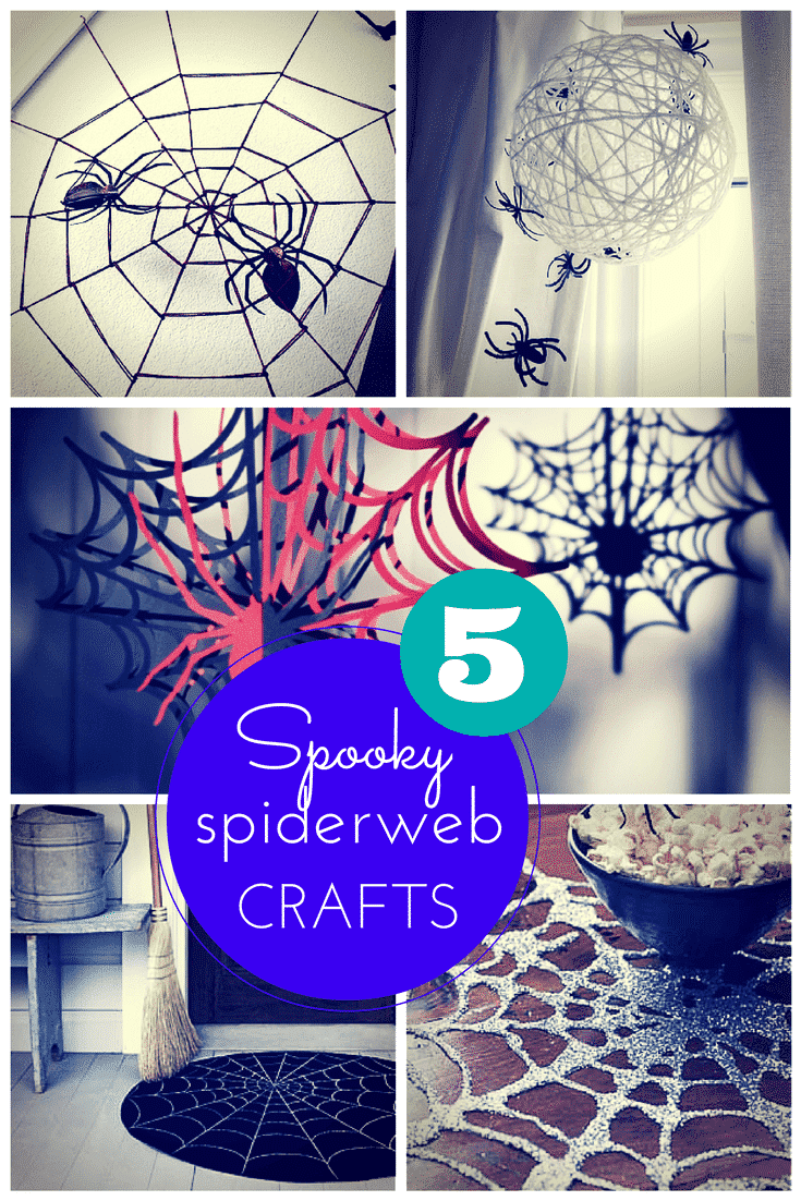 5 spooky spiderweb craft ideas for kids