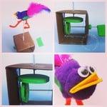 Simple bird automaton
