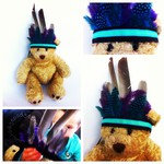 Craft ideas for kids: How to make a feather headdress