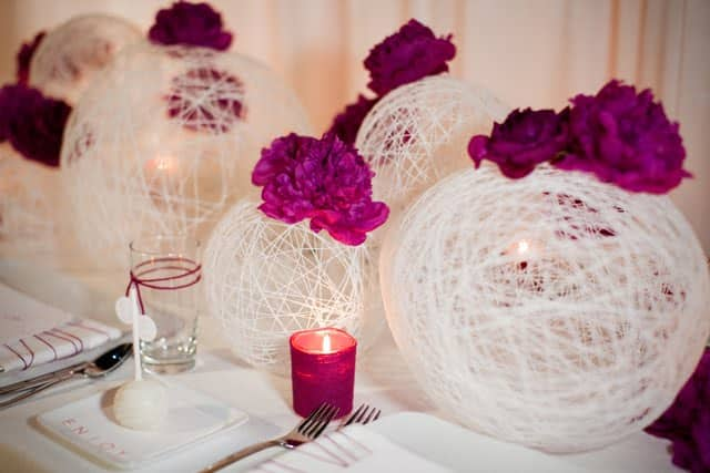 string centrepieces