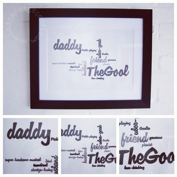 Fathers day DIY gift