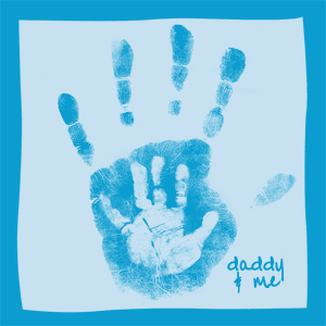 fathers day handprint gift