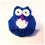 Super cute crochet owl