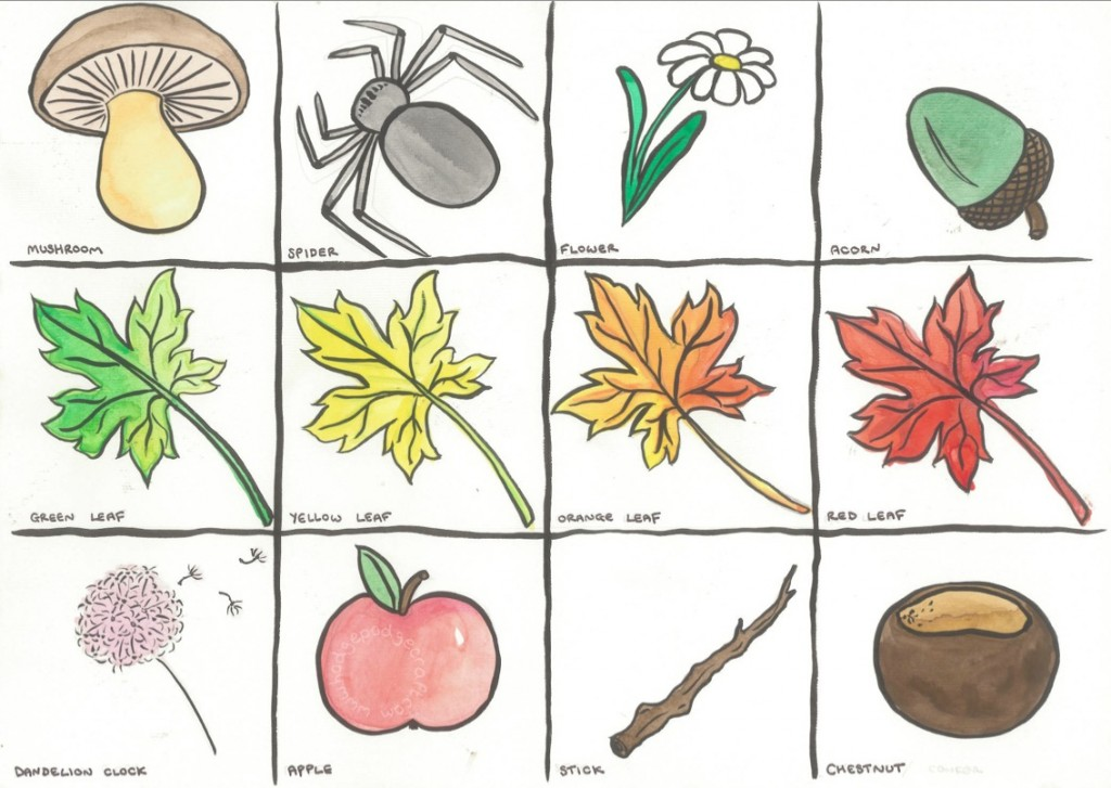 Autumn Scavenger Hunt Free Printable