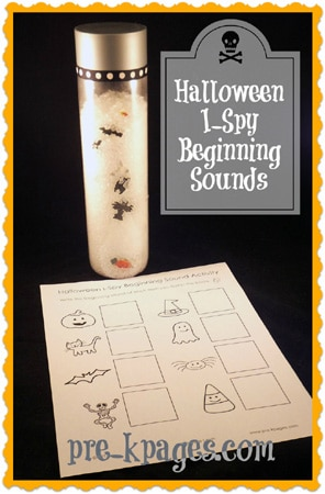 ENGLISH halloween i-spy literacy activity