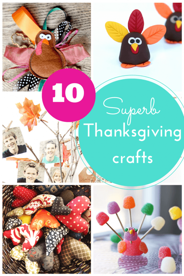 10 Thanksgiving crafts and activities