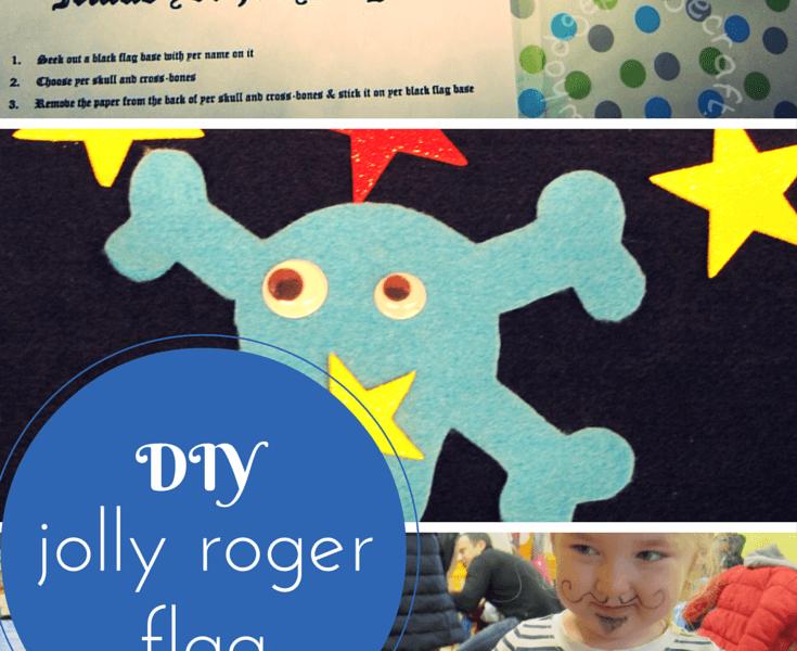DIY jolly roger flag