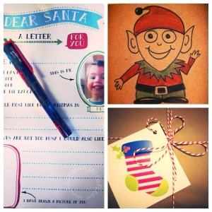 A Christmas parcel from Santa's elves!