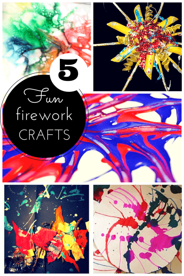 firework craft ideas