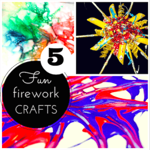 The 5 best firework craft ideas for kids!