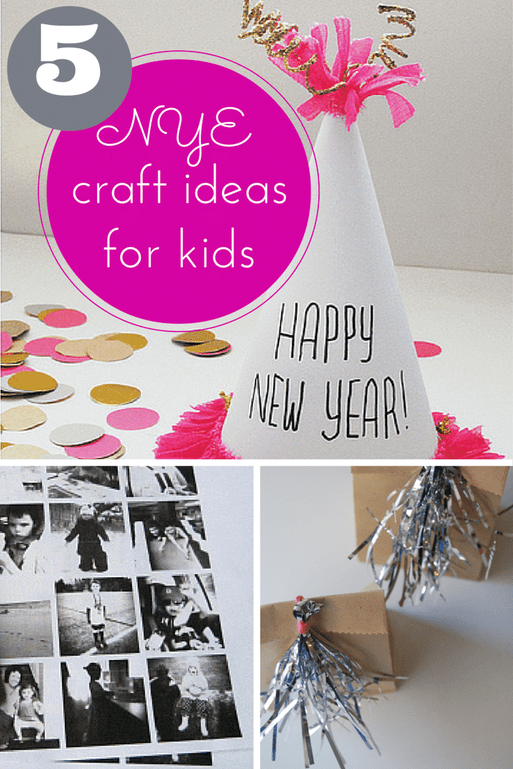 5 fantastic New Years Eve craft ideas for kids!