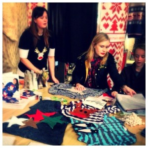 Save the Children's Woolly Wonderland - free Christmas jumper crafting workshops