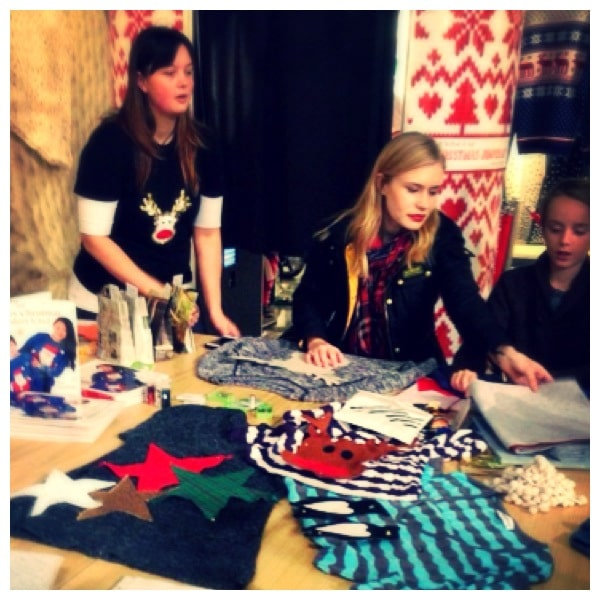 Save the Children's Woolly Wonderland – free Christmas jumper crafting workshops