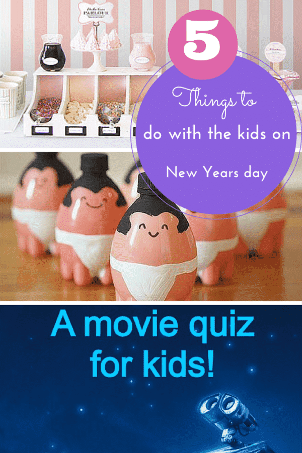 5 things to do with the kids on New Years Day