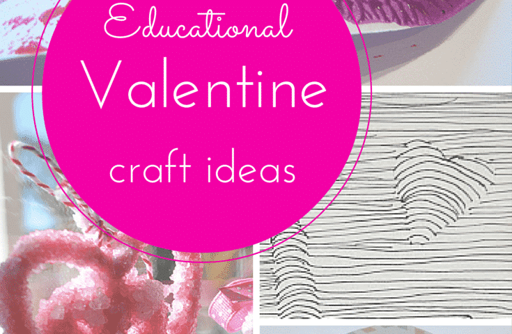 Love School: educational Valentine craft ideas