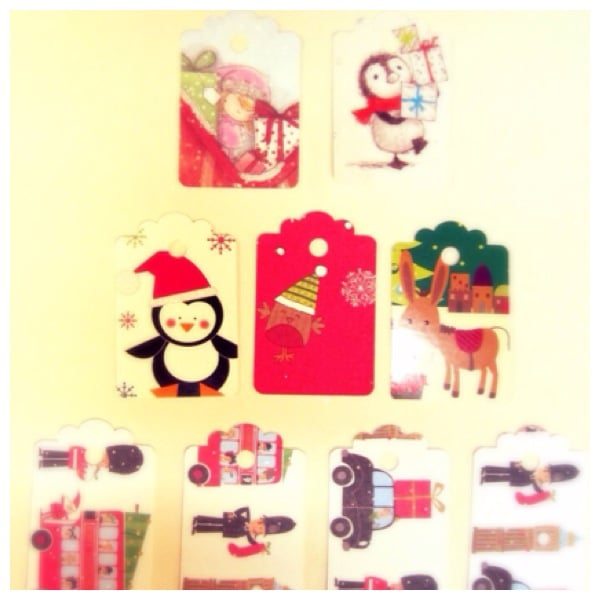 Recycled gift tags thumbnail