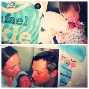 How to make a baby keepsake shadowbox