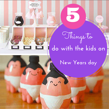 Easy kid's activities for new years day