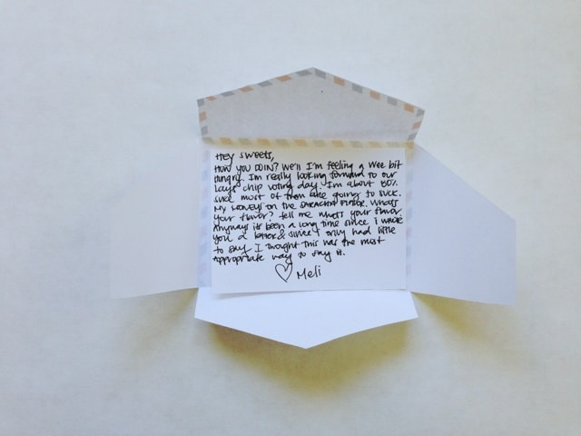 mini love letter