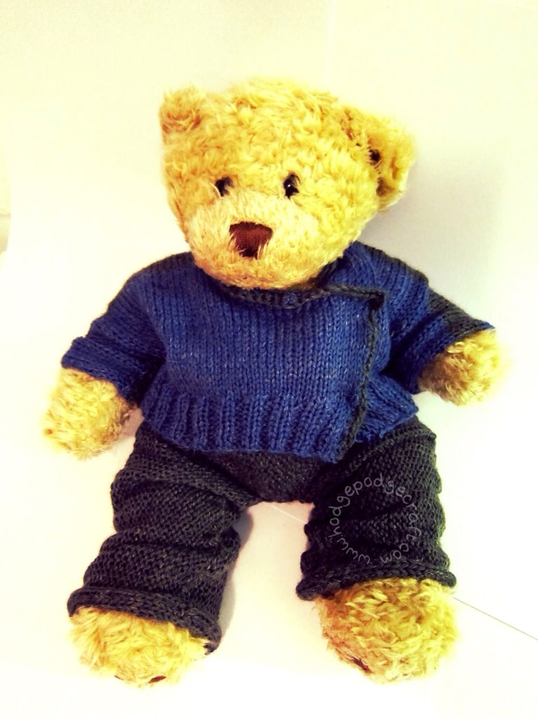 Build-A-Bear knitting pattern
