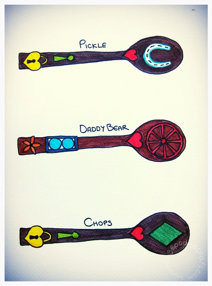 Design your own Welsh Love spoon