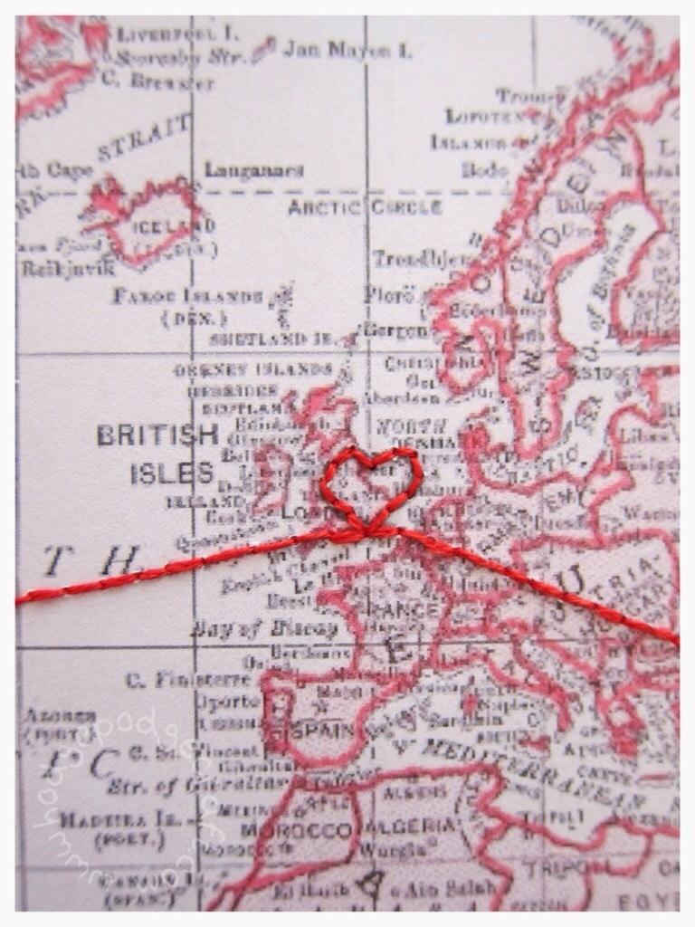 Big trip love map gift