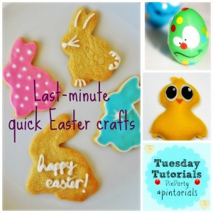 Last-minute, quick Easter crafts