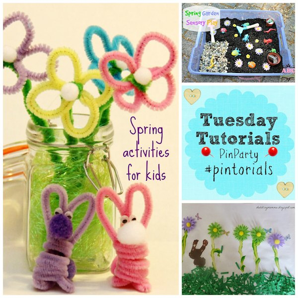 3 Spring Craft Activities for kids
