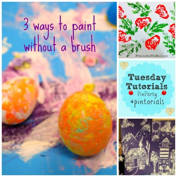 ways to paint without a brush