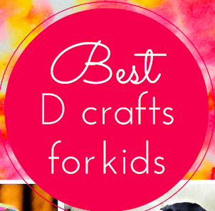 The best D crafts for kids (link up with #Pintorials)