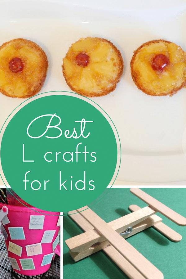 Best L crafts for kids