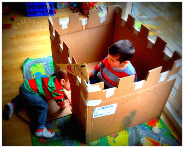 Cardboard Castle tutorial