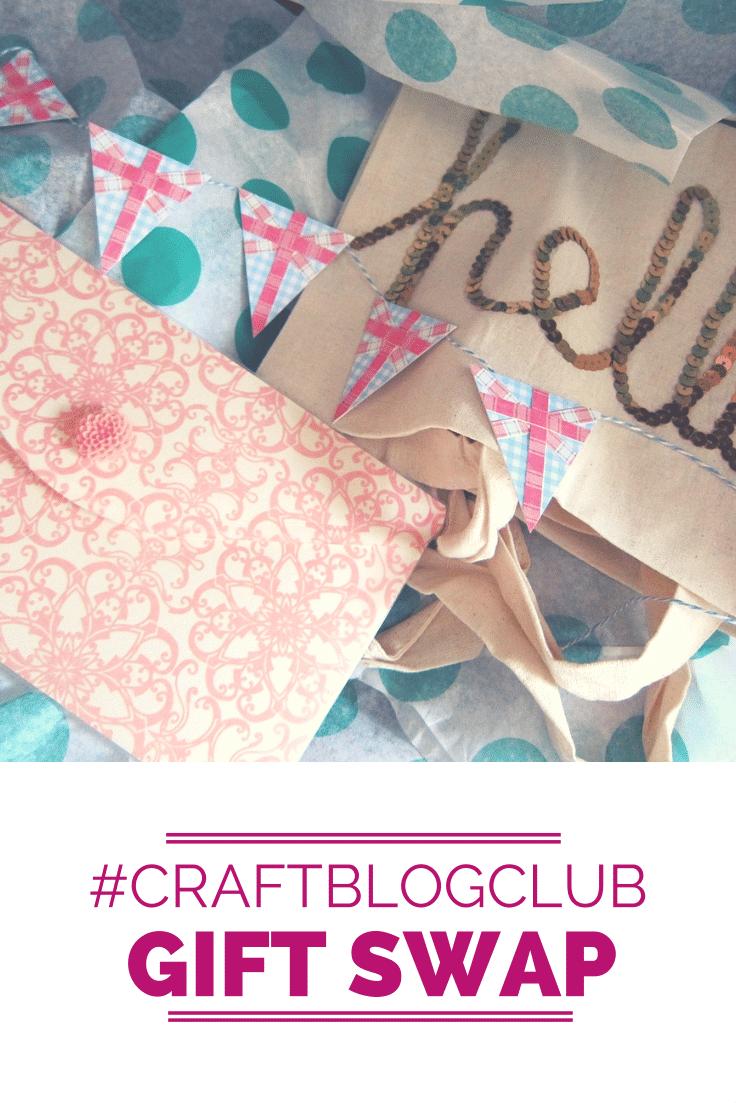 #CraftBlogClub gift swap goodies