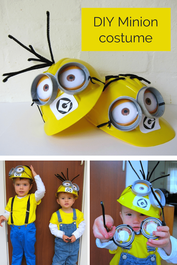 DIY Minion costume tutorial