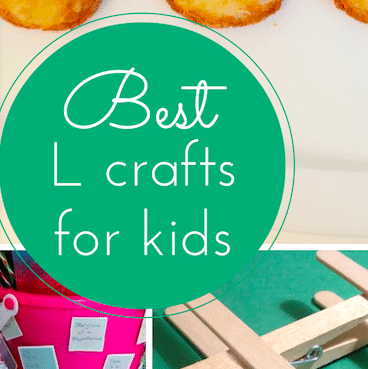 The best L crafts for kids (link up with #Pintorials)