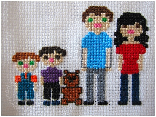 crosstitch your family