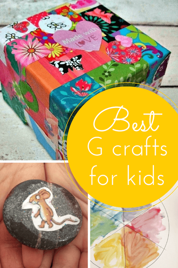 Best G crafts for kids