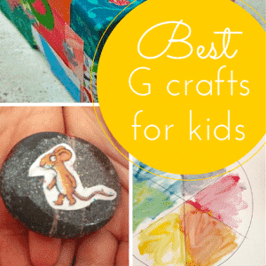 The best G craft ideas for kids