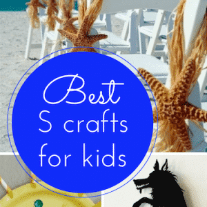 The best S craft ideas for kids (link up to #Pintorials)