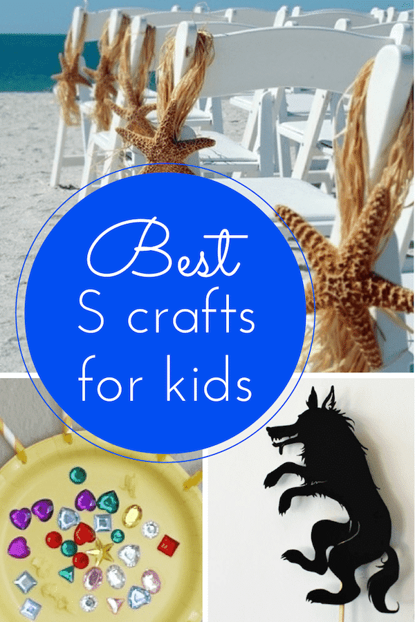 S crafts for kids