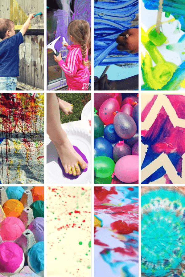 12 messy crafts for Summer