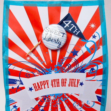 4th July party bags for grown ups!